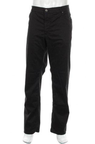 Pantaloni de bărbați Brax, Mărime XL, Culoare Negru, 96% bumbac, 4% elastan, Preț 115,96 Lei