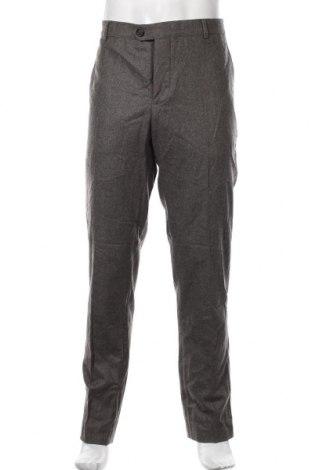 Мъжки панталон Brunello Cucinelli, Размер XL, Цвят Сив, Вълна, Цена 163,80лв.
