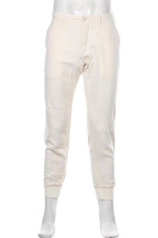 Мъжки панталон Cecil, Размер M, Цвят Екрю, 56% лен, 44% памук, Цена 48,30лв.