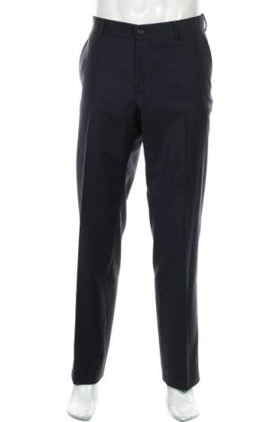 Мъжки панталон Esprit, Размер L, Цвят Син, 100% вълна, Цена 24,00лв.