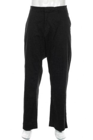 Pantaloni de bărbați Gap, Mărime XXL, Culoare Negru, 97% bumbac, 3% elastan, Preț 83,88 Lei