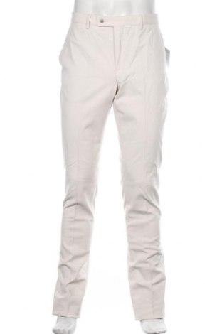 Мъжки панталон Hackett, Размер M, Цвят Екрю, 98% памук, 2% еластан, Цена 153,30лв.