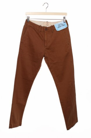Pantaloni de bărbați Hollister, Mărime S, Culoare Maro, 98% bumbac, 2% elastan, Preț 194,90 Lei