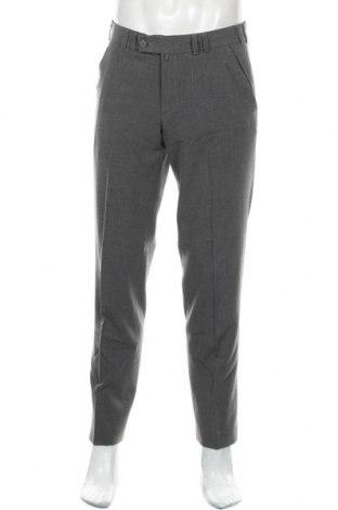 Pantaloni de bărbați House of Hounds, Mărime M, Culoare Gri, 62% poliester, 33% viscoză, 5% elastan, Preț 120,89 Lei
