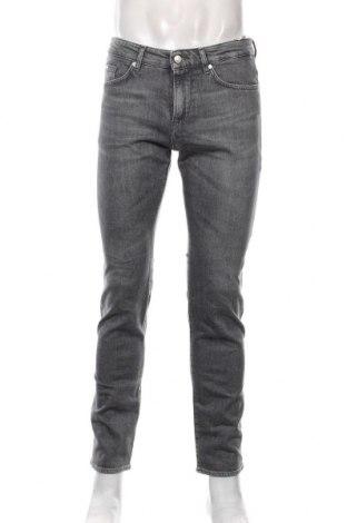 Pánské kalhoty  Hugo Boss, Velikost M, Barva Šedá, 98% bavlna, 2% elastan, Cena  3685,00Kč