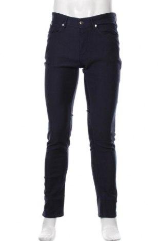 Мъжки панталон Hugo Boss, Размер M, Цвят Син, Цена 90,30лв.