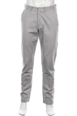 Pantaloni de bărbați J.Crew, Mărime M, Culoare Gri, Bumbac, Preț 128,29 Lei