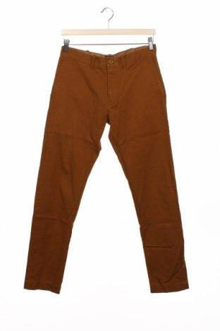 Pantaloni de bărbați J.Crew, Mărime S, Culoare Galben, Bumbac, Preț 133,22 Lei