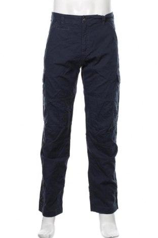 Мъжки панталон Jack Wolfskin, Размер L, Цвят Син, Памук, Цена 111,75лв.