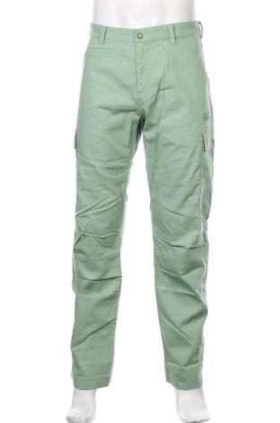 Мъжки панталон Jack Wolfskin, Размер L, Цвят Зелен, Памук, Цена 111,75лв.