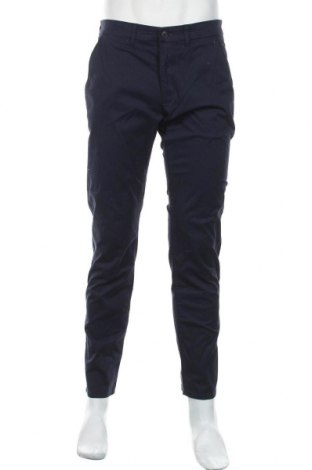 Мъжки панталон Montego, Размер M, Цвят Син, 98% памук, 2% еластан, Цена 55,30лв.