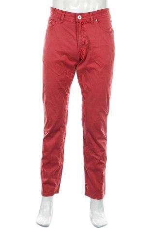 Pantaloni de bărbați Pierre Cardin, Mărime M, Culoare Roșu, 98% bumbac, 2% elastan, Preț 128,29 Lei