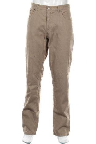 Мъжки панталон Reserved, Размер L, Цвят Бежов, 60% памук, 40% лен, Цена 36,00лв.