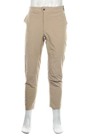 Мъжки панталон The North Face, Размер M, Цвят Бежов, 90% полиестер, 10% еластан, Цена 60,90лв.