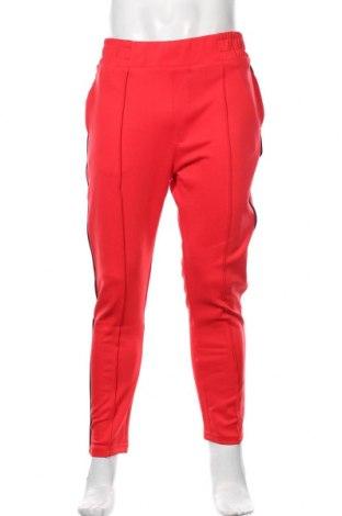 Pánské kalhoty  Tom Tailor, Velikost M, Barva Červená, 97% polyester, 3% elastan, Cena  718,00Kč