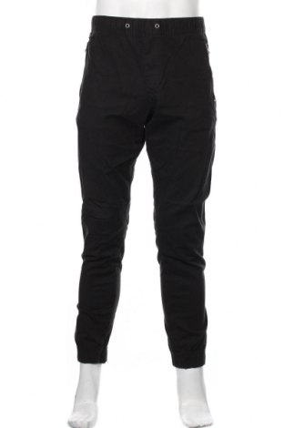 Pantaloni de bărbați Tommy Hilfiger, Mărime L, Culoare Negru, 98% bumbac, 2% elastan, Preț 424,34 Lei