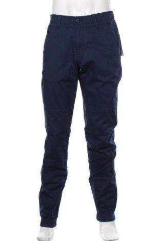 Мъжки панталон Under Armour, Размер L, Цвят Син, 98% памук, 2% еластан, Цена 96,75лв.
