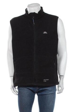 Мъжки поларен елек Trespass, Размер XL, Цвят Черен, Полиестер, Цена 55,50лв.