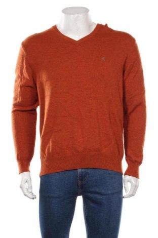 Мъжки пуловер A.W.Dunmore, Размер XL, Цвят Кафяв, Вълна, Цена 29,40лв.