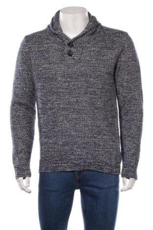Ανδρικό πουλόβερ Angelo Litrico, Μέγεθος M, Χρώμα Μπλέ, 63%ακρυλικό, 37% βαμβάκι, Τιμή 14,94€