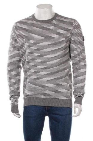 Ανδρικό πουλόβερ Angelo Litrico, Μέγεθος L, Χρώμα Γκρί, Βαμβάκι, Τιμή 16,89€
