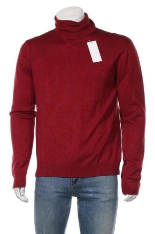 Pulover de bărbați Dreimaster, Mărime XL, Culoare Roșu, 82% viscoză, 18% poliamidă, Preț 259,87 Lei