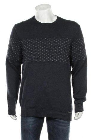 Pulover de bărbați Esprit, Mărime XL, Culoare Albastru, 100% bumbac, Preț 105,26 Lei