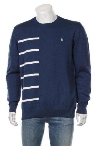 Pulover de bărbați Giorgio Di Mare, Mărime XXL, Culoare Albastru, Bumbac, Preț 457,24 Lei