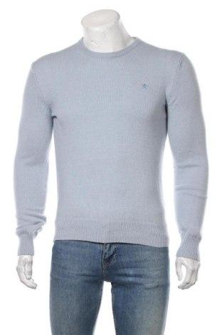 Мъжки пуловер Hackett, Размер S, Цвят Син, Вълна, Цена 136,50лв.