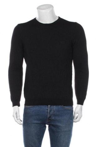 Pulover de bărbați Hugo Boss, Mărime M, Culoare Negru, Lână, Preț 753,29 Lei
