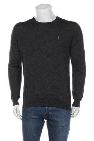 Мъжки пуловер Polo By Ralph Lauren, Размер L, Цвят Сив, Цена 119,25лв.