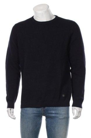 Pulover de bărbați Premium By Jack & Jones, Mărime XL, Culoare Albastru, Bumbac, Preț 226,97 Lei