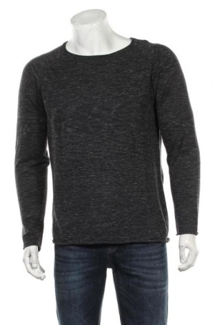 Pulover de bărbați Selected Homme, Mărime S, Culoare Gri, Bumbac, Preț 105,26 Lei