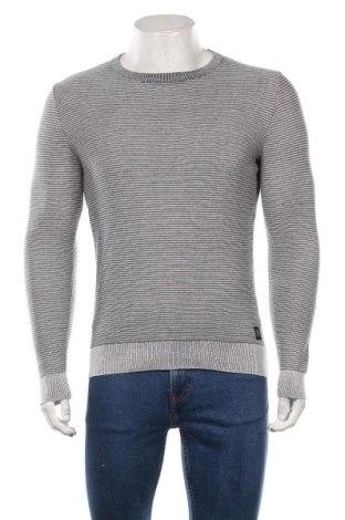 Мъжки пуловер Tom Tailor, Размер M, Цвят Син, Памук, Цена 51,75лв.