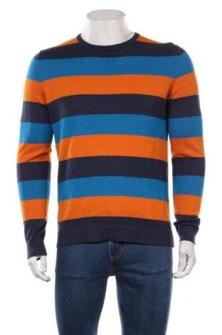 Мъжки пуловер Tom Tailor, Размер M, Цвят Многоцветен, Памук, Цена 44,25лв.