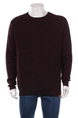 Мъжки пуловер Tom Tailor, Размер XL, Цвят Лилав, Памук, Цена 44,25лв.