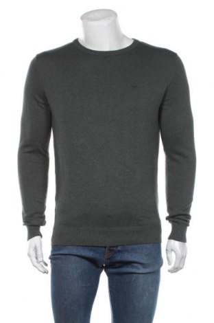 Мъжки пуловер Tom Tailor, Размер M, Цвят Зелен, Цена 36,75лв.