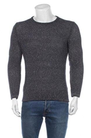 Męski sweter Tom Tailor, Rozmiar S, Kolor Niebieski, Bawełna, Cena 126,00zł