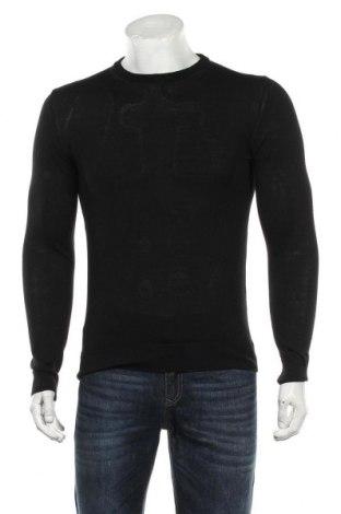 Pulover de bărbați Zara Man, Mărime M, Culoare Negru, Preț 118,42 Lei