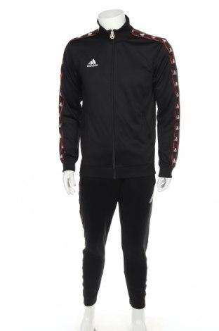 Pánský sportovní komplet  Adidas, Velikost M, Barva Černá, Polyester, Cena  1148,00Kč
