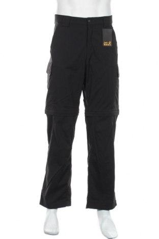 Мъжки спортен панталон Jack Wolfskin, Размер L, Цвят Черен, 94% полиамид, 6% еластан, Цена 111,75лв.