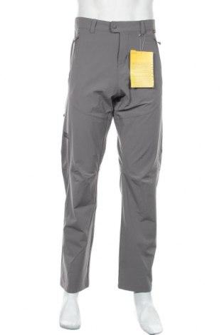 Мъжки спортен панталон Jack Wolfskin, Размер L, Цвят Сив, 89% полиамид, 11% еластан, Цена 111,75лв.