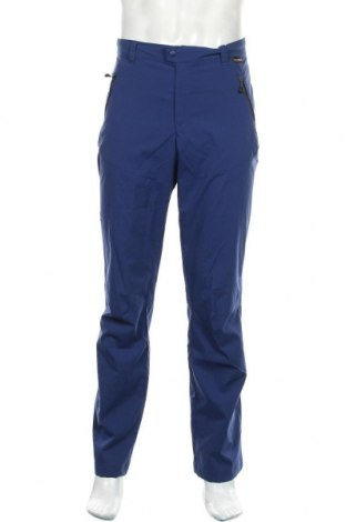 Pantaloni trening de bărbați Jack Wolfskin, Mărime L, Culoare Albastru, 94% poliamidă, 6% elastan, Preț 367,60 Lei