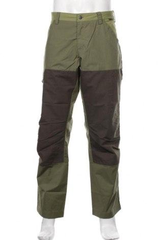 Мъжки спортен панталон Jack Wolfskin, Размер L, Цвят Зелен, 65% полиестер, 35% памук, Цена 111,75лв.