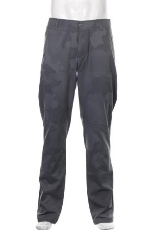 Мъжки спортен панталон Under Armour, Размер L, Цвят Сив, 58% полиамид, 36% полиестер, 6% еластан, Цена 96,75лв.