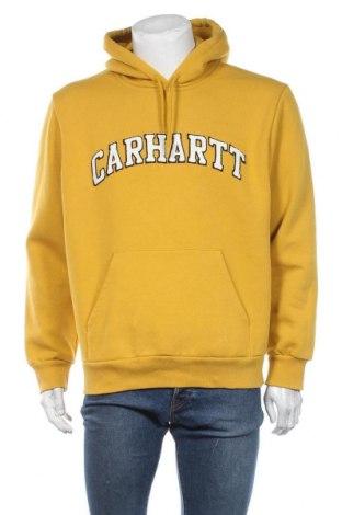Męska bluza Carhartt, Rozmiar L, Kolor Żółty, 58% bawełna, 42% poliester, Cena 238,00zł