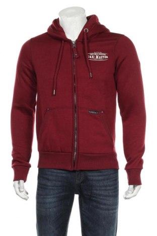 Pánská mikina  Dreimaster, Velikost XL, Barva Červená, 65% polyester, 35% bavlna, Cena  968,00Kč