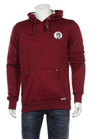 Pánská mikina  HOMEBASE, Velikost L, Barva Červená, 65% polyester, 35% bavlna, Cena  1076,00Kč