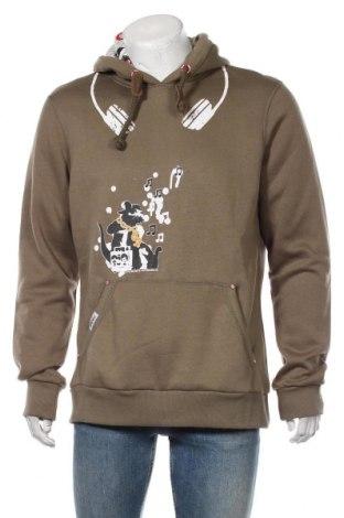 Pánská mikina  HOMEBASE, Velikost XL, Barva Zelená, 65% polyester, 35% bavlna, Cena  968,00Kč