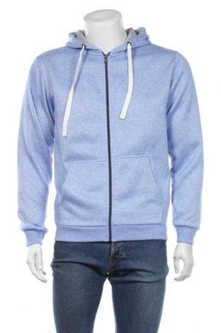Męska bluza Montego, Rozmiar M, Kolor Niebieski, 85% poliester, 15% bawełna, Cena 124,00zł